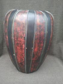 有年纪的瓜菱陶瓷冬瓜罐】