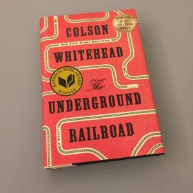 科尔森·怀特黑德Colson Whitehead签名本《The Underground Railroad》 地下铁道