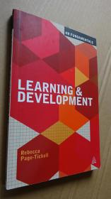 Learning and Development    Rebecca Page-Tickell