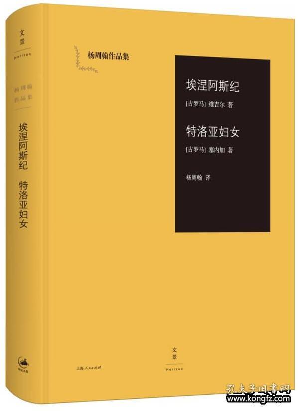 埃涅阿斯纪  特洛亚妇女:杨周翰作品集01