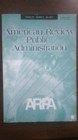The American Review of Public Administration (Volume44 Number4 July2014)