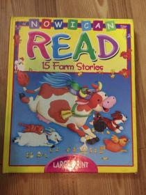 NOW I CAN READ:15 farm Stories