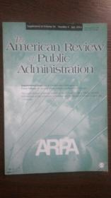 The American Review of Public Administration (Supplement to Volume44 Number4 July2014)