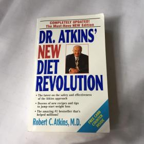 DR.ATKINS NEW DIET REVOLUTION COMPLETELY UPDATED