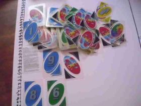 一副有化学符号的塑料扑克牌