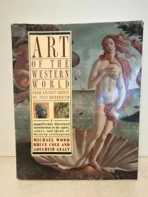 西方艺术史:从古希腊到后现代主义 Art of the Western World : From Ancient Greece to Post Modernism ( 艺术 ) 英文原版书