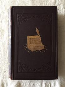 COOPER:A HISTORY OF THE ROD(皮面精装,插图本,1890年)