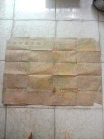 河南省全图1987年版
