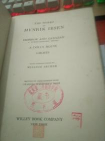 THE WORKS OF HENRIK IBSEN 毛边书