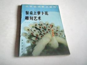 餐桌上萝卜花雕刻艺术---北京饭店菜点装饰