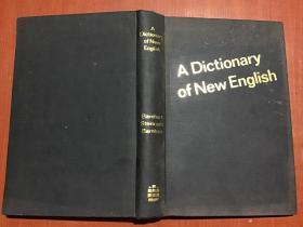 A Dictionary of New English【英语新词词典】