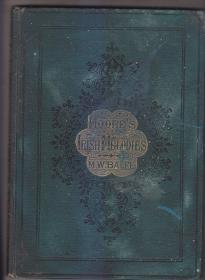 MOORE'S IRISH MELODIES——BALFE 摩尔的爱尔兰旋律——巴尔夫 早期限量皮面精装本  书口书顶书根三面刷金