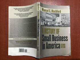 A History Of Small Business In America美国的小企业历史