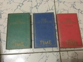 the concord desk encyclopedia; 英文版; 协和书桌百科全书  [三册全带盒]