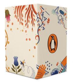 企鹅手绣经典系列(套装共6册) ,《爱玛》《黑骏马》《绿野仙踪》《柳林风声》《秘密花园》《小妇人》