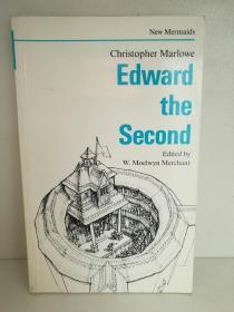 克里斯托弗·马洛:爱德华二世  Edward the Second by Christopher Marlowe (戏剧/英国)英文原版书