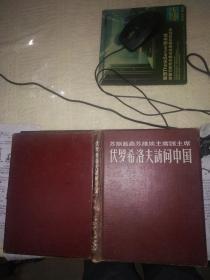 苏联最高苏维埃主席团主席伏罗希洛夫访问中国【画册】16开硬精装1957年初版