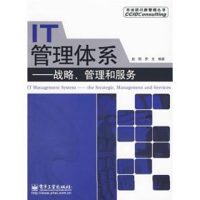 IT管理体系:战略、管理和服务