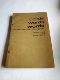 词汇与字典   英文原版
