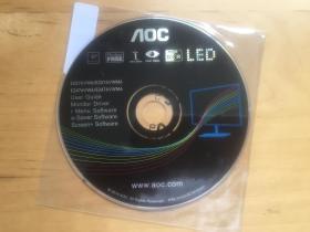 AOC显示器驱动  光盘