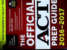 新东方 The Official ACT Prep Guide, 2016-2017 (官方指南)