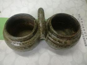 六朝青瓷围棋罐