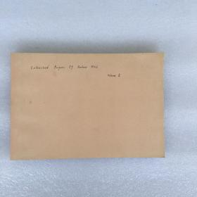 Oeuvres Scientifiques - Collected Papers II (1951-1964) (数学家 安德烈·韦伊 论集)