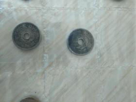 日本币两枚