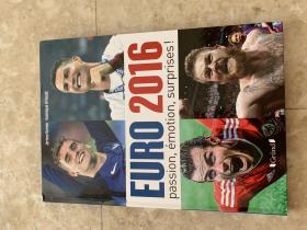 2016欧洲杯足球画册 法国原版世界杯画册 赛后特刊 包邮快递