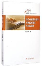 地方政府区域政治与区域发展研究丛书·地方政府能力建设:西部民族地区发展新思路
