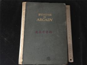 1915年毛边本美国诗集《Bypaths in Arcady:A Book of Love Spngs  》by Kendall Banning,爱之书,插图系用青年男女黑白照片,约25幅。据说因畏世俗而仅印540部,大开本,稀见之书。