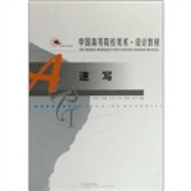 中国高等院校美术设计教材:速写
