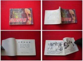 《迷雾园奇案》无封底,新疆八十年代出版,8579号,连环画