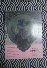 钱币拍卖图录《SPINK》1996年 NO1132