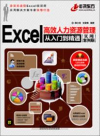 Excel高效人力资源管理从入门到精通(实用案例版)