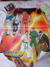 拳皇4开海报5张同售