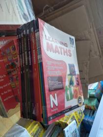 新加坡数学教材 幼儿园低幼 3册  + 123456年级 各一册  共计9本  英文教材