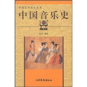 保证正版 中国音乐史 中国艺术简史丛书 秦序著 文化艺术出版社