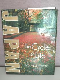 日本:四季与文化 大型画册 Japan:The Cycle of Life (日本)英文原版书