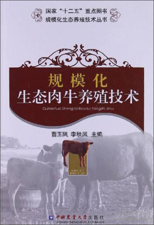 规模化生态肉牛养殖技术