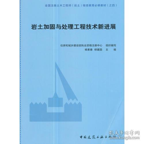 岩土加固与处理工程技术新进展杨素春柳建国中国建筑工业出版社ISBN9787112210114
