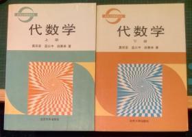 代数学(上下两册)-莫宗坚(北京大学数学丛书)1999年版