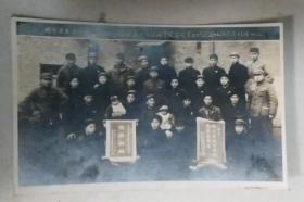 蚌阜市土产公司集体照 老照片