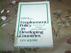 Employment  Policy  in  Developing  Countries