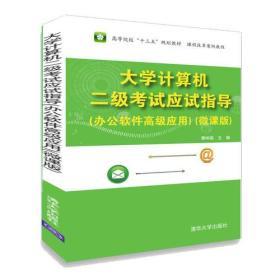 大学计算机二级考试应试指导:办公软件高级应用:微课版