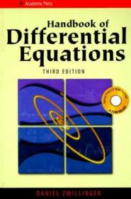 Handbook Of Differential Equations (with Cd-rom Version 1)  Third Edition (handbook Of Development E