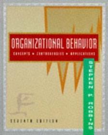 Organizational Behavior (concepts Controversies Applications)