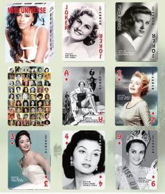 【全新扑克牌】《历届世界环球小姐(摄影)》珍藏版扑克牌 印刷精美(稀缺扑克)