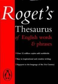 Rogets Thesaurus (viking Longman Reference)