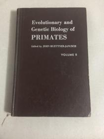 Evolutionary and Genetic Biology of primates(灵长类地方进化和遗传生物学)